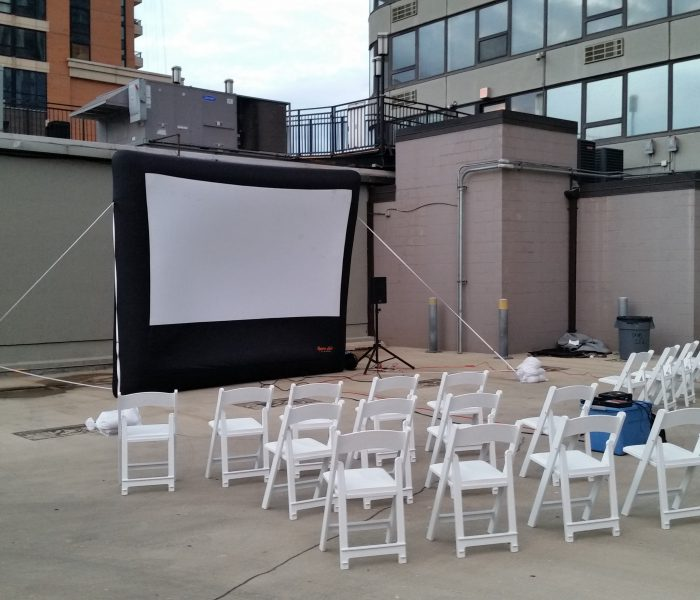 MyMoonLitMovies – Outdoor Movie Rental – Inflatable screen ...