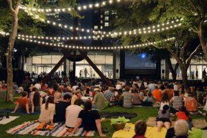 Summer Outdoor Movie Night